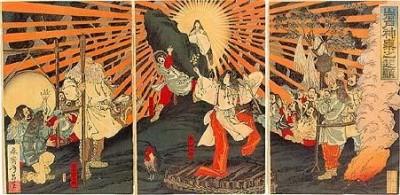 Die Legende von Amaterasu