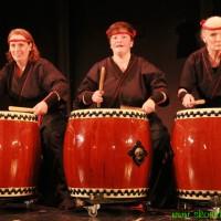 Amaterasu-Taiko, japanisches Trommeln, Taiko