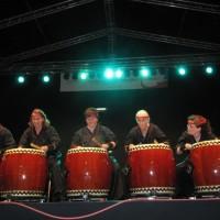 Japanisches Trommeln, Taiko, Amaterasu Taiko